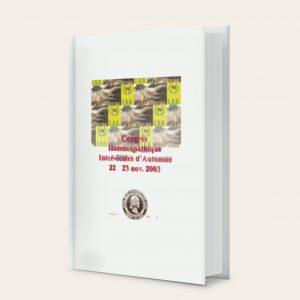 Acheter livre homeobel congres homéopathique.